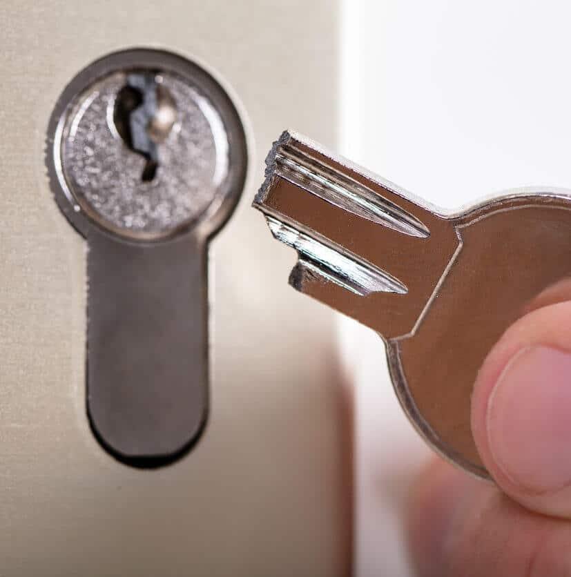 Schlüssel abgebrochen