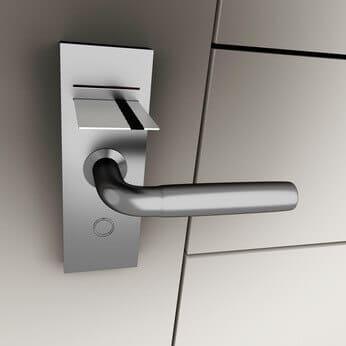Tür mit Schlüsselkarte